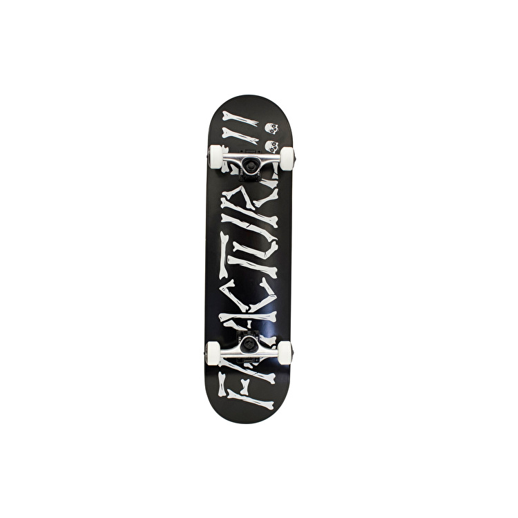 Fracture Broken Series Complete Skateboard - Black 8""