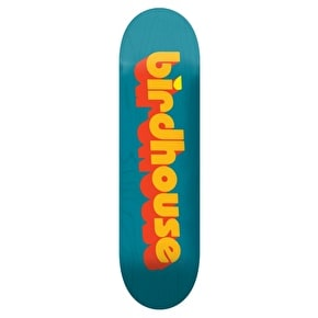 Birdhouse 3D Logo Skateboard Deck - Blue 8.25