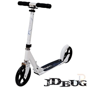 JD Bug Folding Scooter - Street MS200 Pepper White