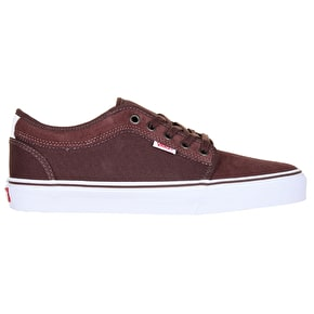 Vans Chukka Low Skate Shoes - French Toast/White/Red