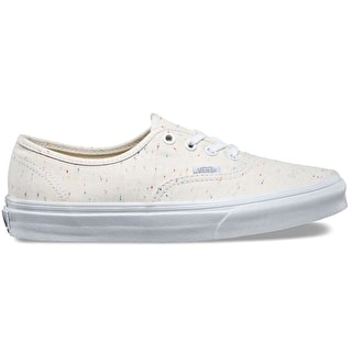 Vans Authentic Womens Shoes - (Speckle Jersey) Cream/True White