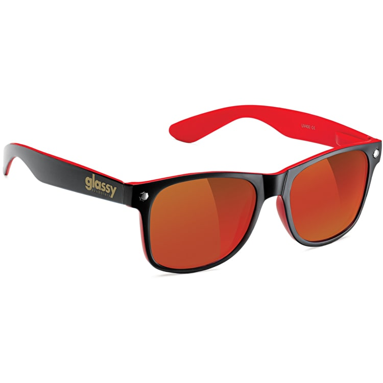 Glassy Sunhaters Leonard - Black/Red