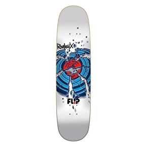 Flip Skateboard Deck - Crackshot Rowley - White 8.44''