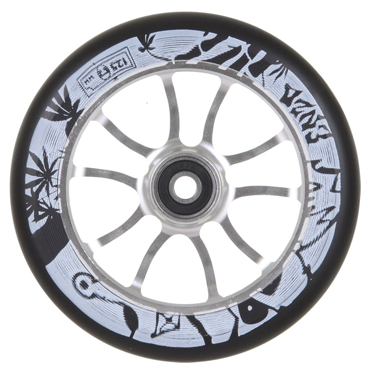 Image of AO 125mm Enzo 2 Signature Scooter Wheel - Silver