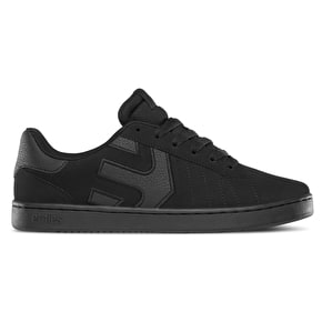 Etnies Fader LS Skate Shoes - Black Raw