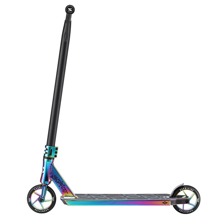 Sacrifice Flyte 120 Complete Scooter - Neochrome