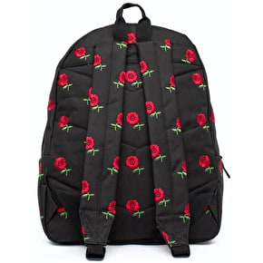 Hype Embroidered Rose Backpack