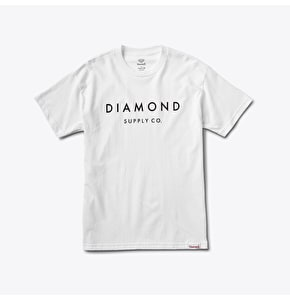 Diamond Stone Cut T-Shirt - White
