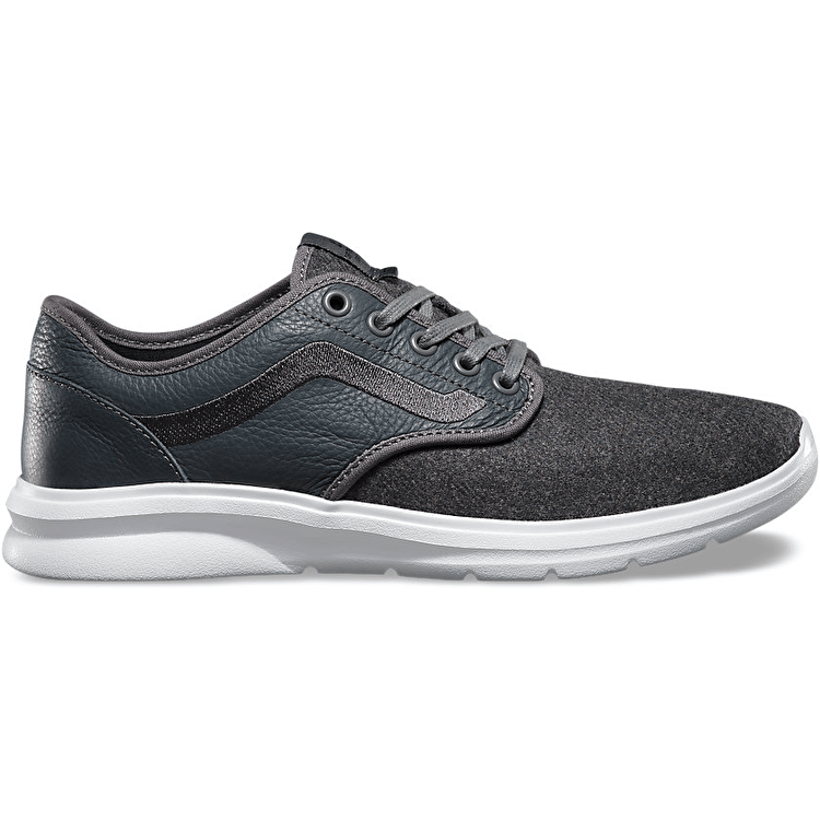 Vans ISO 2 Shoes - (Wool) Pewter/White