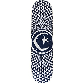 Foundation Star & Moon Blue Team Skateboard Deck - 8