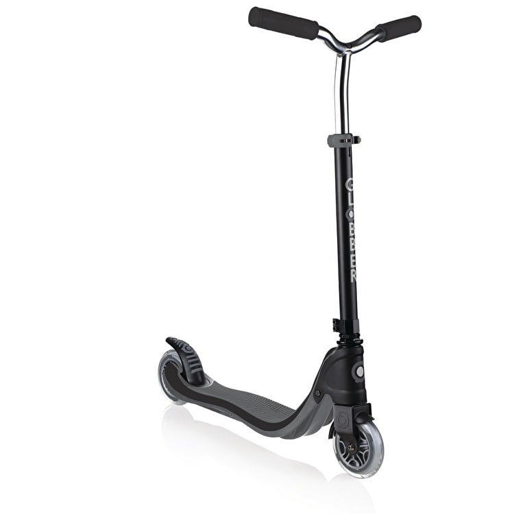 Globber My Too Flow 125 Complete Scooter - Black/Grey