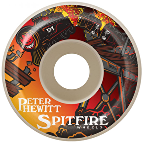 Spitfire Hewitt Off The Rails Skateboard Wheels - 56mm 99a
