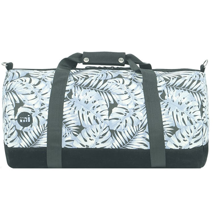 Mi-Pac Tropical Leaf Duffle Bag - Grey