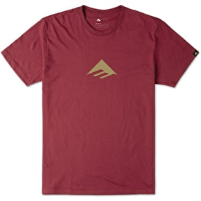 Emerica Triangle T-Shirt - Cardinal