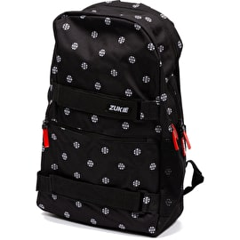 Zukie Polka Backpack - Black