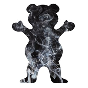 Grizzly Smoke Fill Bear Sticker