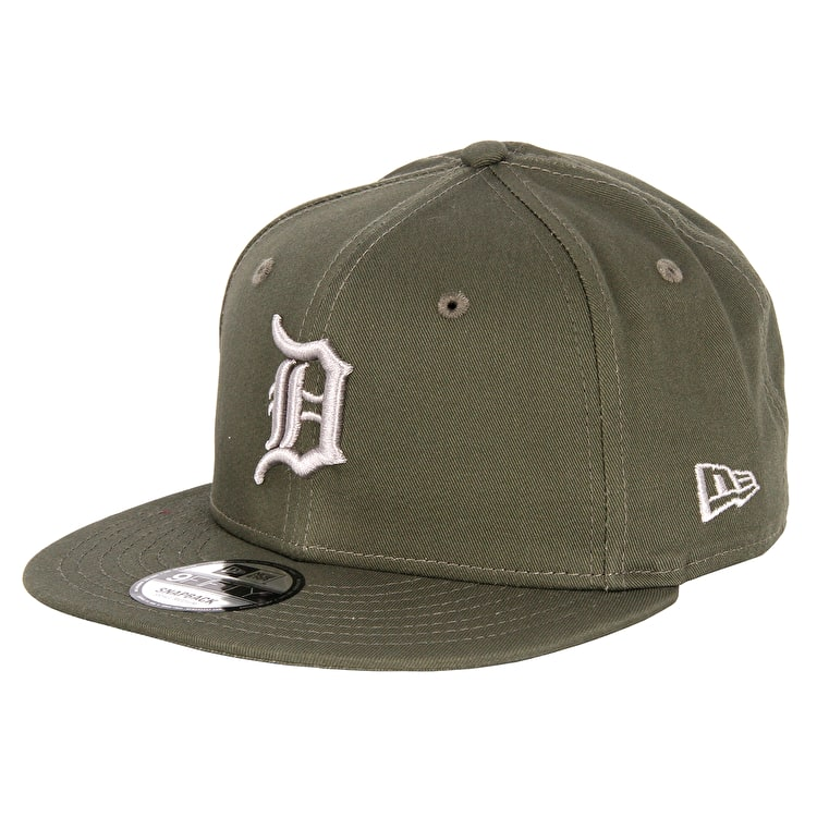 New Era MLB League Essentials Cap - Detroit Tigers - New Olive/Grey