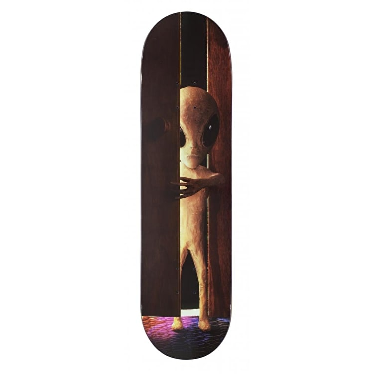 Alien Workshop One Off Skateboard Deck - Visitor Doorway Slick 8.0""