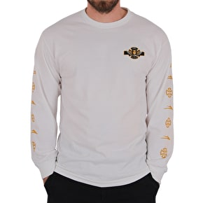 Lakai x Independent Longsleeve T-Shirt - White