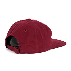 Theories Crest Snapback Cap - Wine