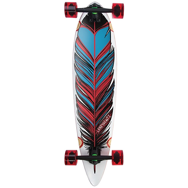 "Landyachtz Maple Chief Feather 36"" Complete Longboard"