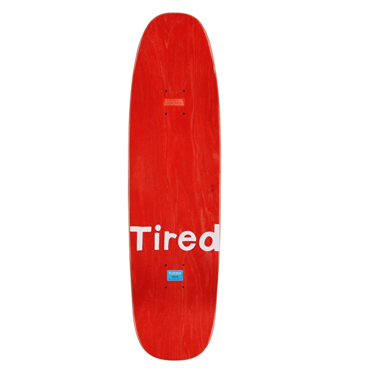 """Tired Cactus Popsicle Skateboard Deck - 8.625"""""""