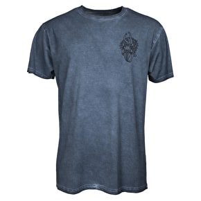 Santa Cruz Jesse Neptune T-Shirt - Carbon Denim