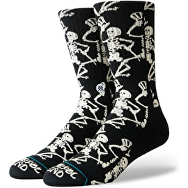Stance Grateful Skulls Socks - Black
