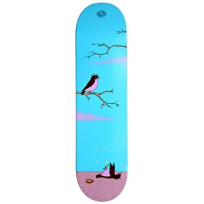 Drawing Boards Skateboard Deck - Sayings Kill Two Birds With One Stone