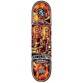 Real Firestarter Skateboard Deck - Ramondetta 8.25