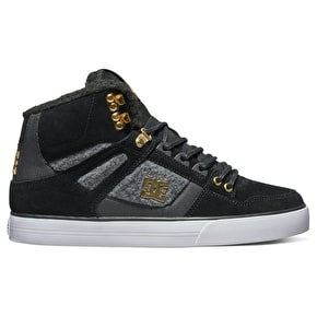 DC Spartan High WC WNT Shoes - Black/Gold