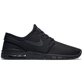 Nike SB Stefan Janoski Max Shoes - Black/Black/Anthracite