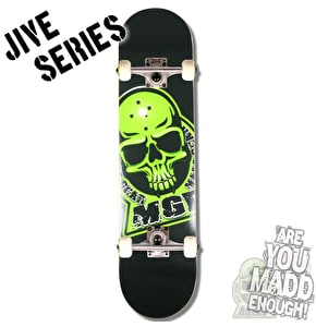 MGP Jive Series Complete Skateboard - Branded Black 7.5