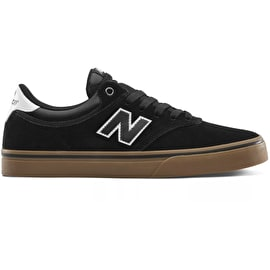 New Balance 255 Skate Shoes - Black/Gum