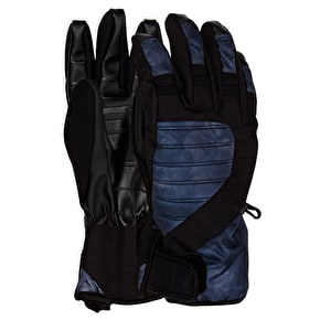 Neff Digger Womens Gloves - Black Crystal