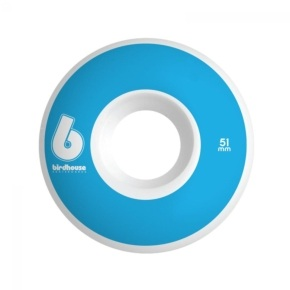 Birdhouse B Logo Skateboard Wheels - Blue 51mm