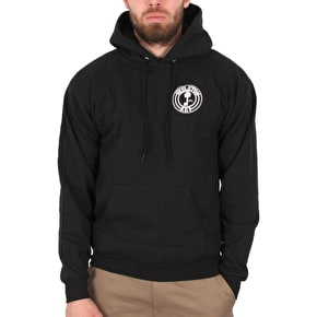 Skeleton Key Factory Dot Hoodie - Black