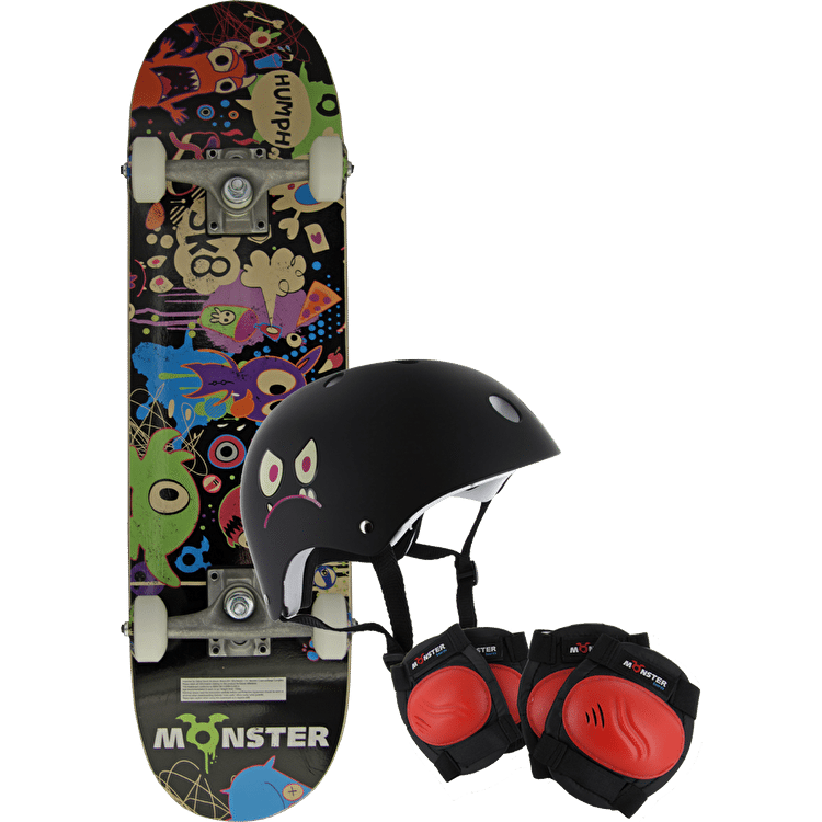 Monster Skateboard Starter Pack - Party