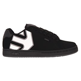 Etnies Fader Skate Shoes - Black/Black/Reflecive