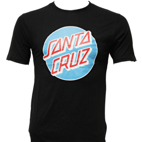 Santa Cruz Classic Dot T-Shirt - Black