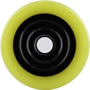 Eagle Black core Yellow Pu Metal Core wheel - 100mm