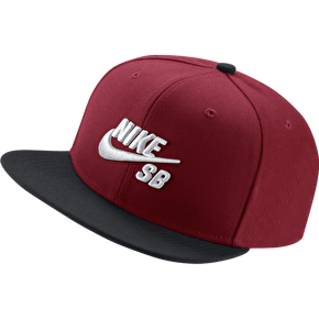 Nike SB Icon Snapback Cap - Gym Red/Black/White