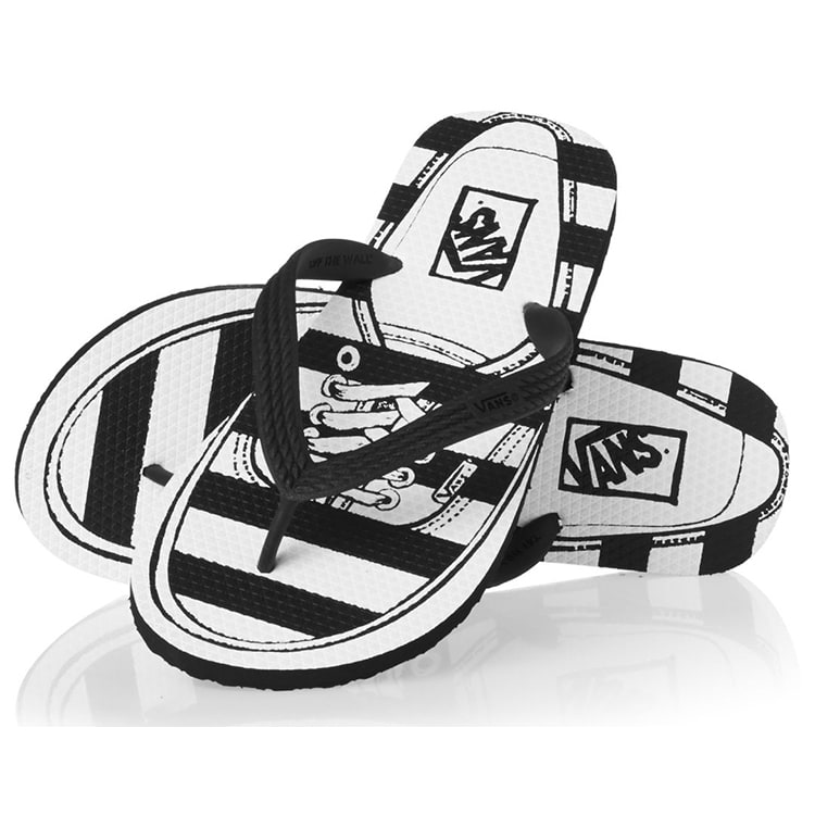 Vans Hanelei Flip-Flops - (Authentic) Black
