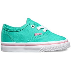 Vans Authentic Toddlers Shoes - (Iridescent Eyelets) Florida Keys