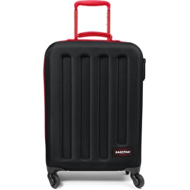 Eastpak Tranzshell S Wheeled Luggage Suitcase - Blackout Dark