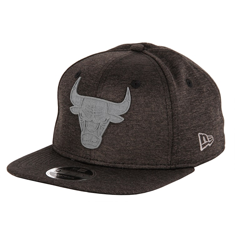 New Era Concrete Jersey 9Fifty Chicago Bulls Cap - Black/Graphite