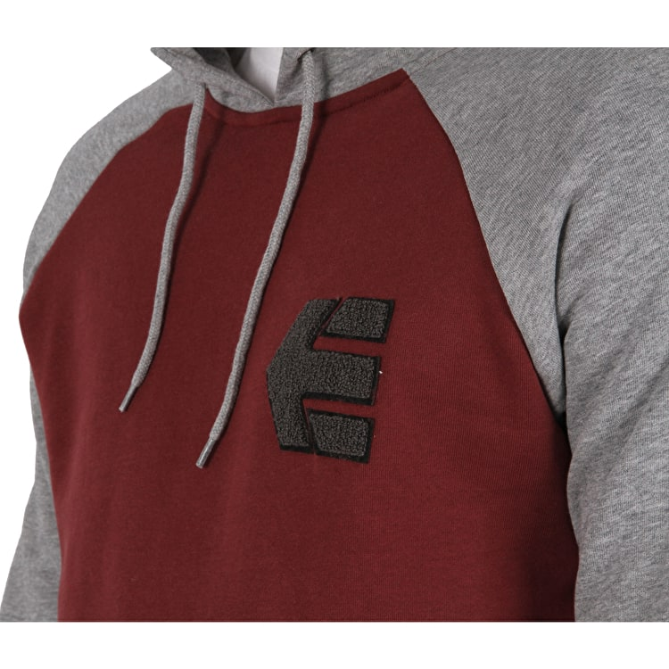 Etnies Breakers Pullover Hoodie - Grey/Heather