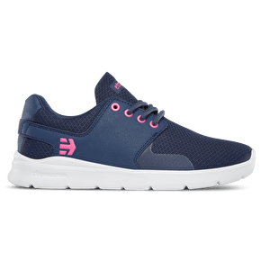 Etnies Scout XT Womens Skate Shoes - Navy/Pink