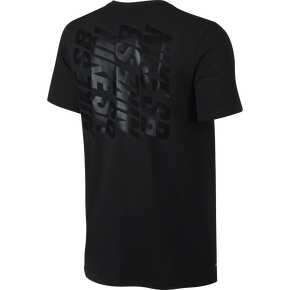 Nike SB Stack T-Shirt - Black/Black