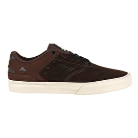 Emerica The Reynolds Low Vulc Skate Shoes - Brown